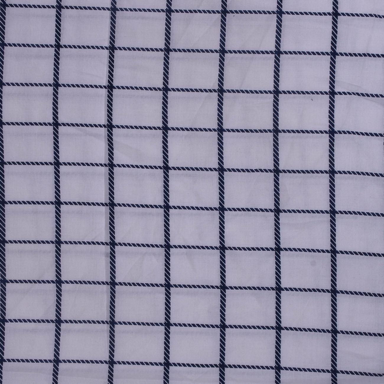 人棉期货格子梭织印花无弹衬衫连衣裙 短裙 薄 棉感 70522-35