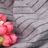 条纹 呢料 柔软 羊毛 大衣 外套 女装 70810-31