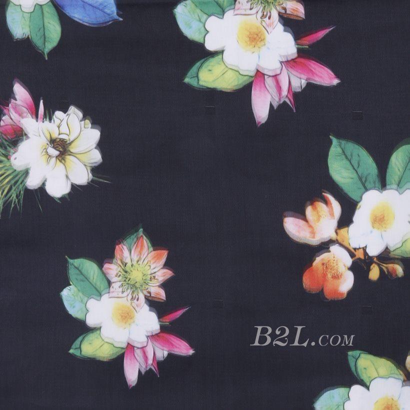 印花 梭织 花朵 无弹 纱感 女装 连衣裙 短裙 春夏秋 71125-16
