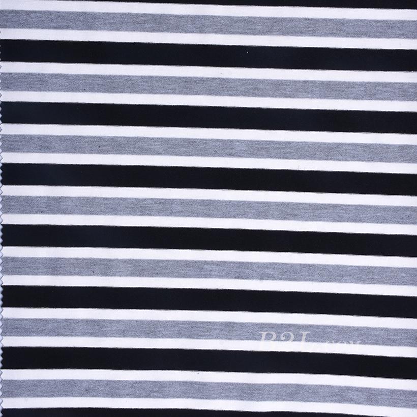 条子 横条 圆机 针织 纬编 T恤 针织衫 连衣裙 棉感 弹力 定位 期货 60312-165