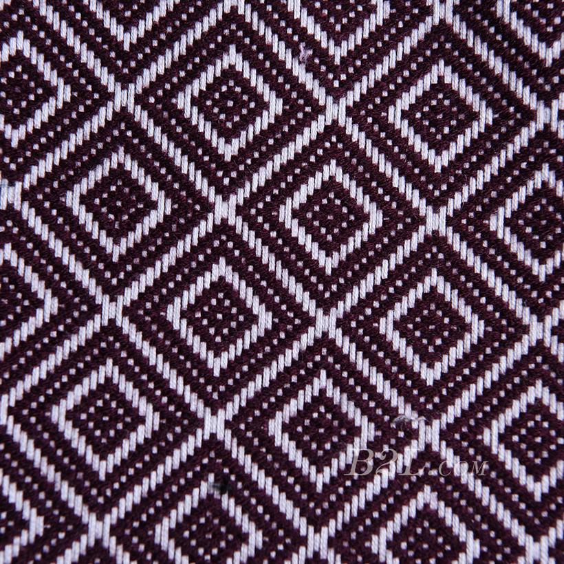 梭织 提花 色织 菱形格 无弹 连衣裙 外套 春秋 期货  71201-12