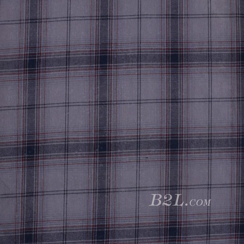 格子 棉感 色织 平纹 外套 衬衫 上衣 70622-146