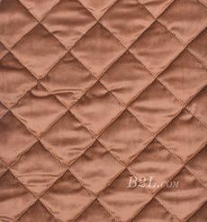 提花 梭織 染色 低彈 菱形格 春秋冬 時裝 棉衣 90309-8