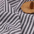 条子 梭织 色织 无弹 休闲时尚风格 衬衫 连衣裙 短裙 棉感 薄 棉麻色织布 春夏秋 60929-103