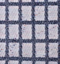 毛纺 梭织 染色 格子 秋冬 大衣 时装 女装 91004-6