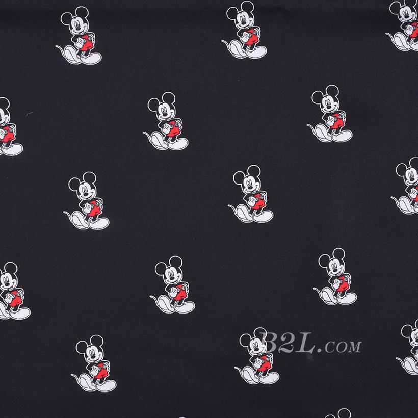 期货 印花 梭织 米老鼠 棉感 低弹 连衣裙 薄 衬衫 四季 女装 童装 80302-21