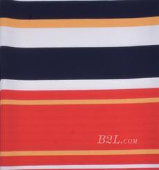 条纹 针织 横条 高弹 棉感 春秋 T恤 针织衫 连衣裙 80905-28