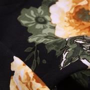 人棉期貨車矢菊 花朵 梭織 印花 無彈 襯衫 連衣裙 短裙 薄 棉感 70522-63