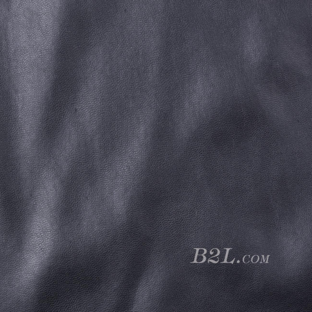 梭织染色皮革面料-春秋裤装半身裙外套面料91115-25
