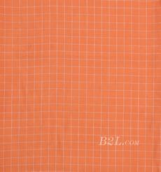 格子 梭織 色織 銅氨 春秋 連衣裙 外套 時裝 90307-37