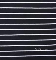 条子 横条 圆机 针织 纬编 棉感 弹力  T恤 针织衫 连衣裙 男装 女装 80131-31