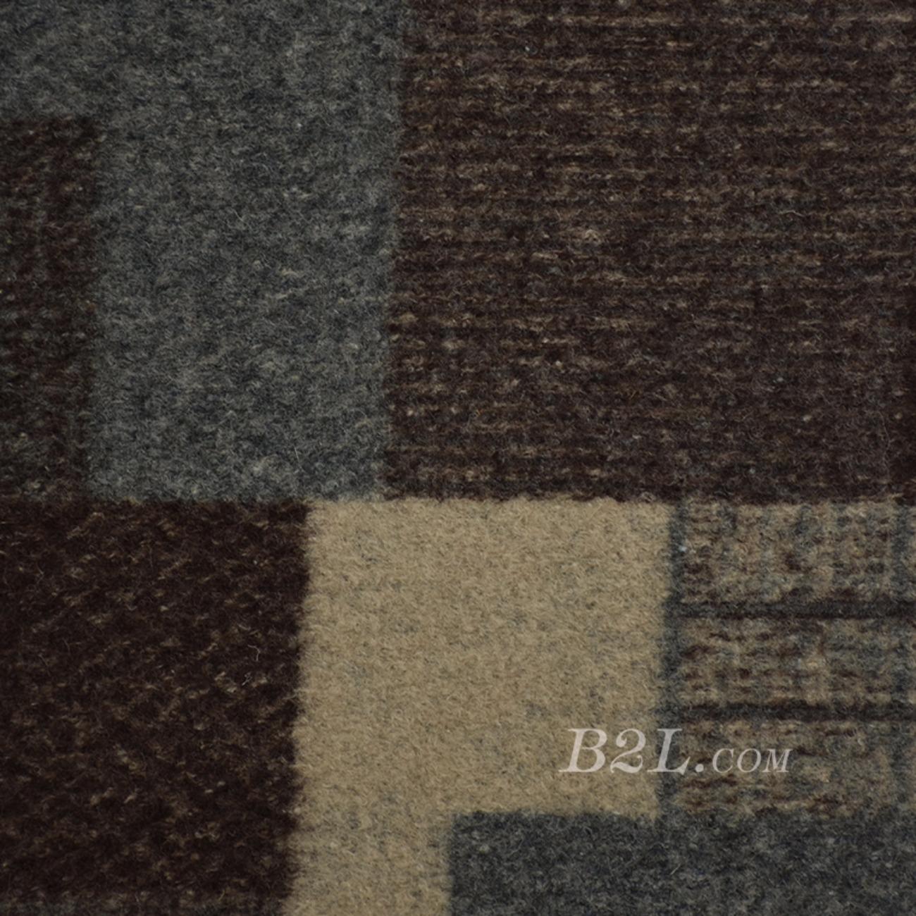 毛纺 针织 大衣 色织 几何粗纺圆机 低弹 外套加厚绒感 60803-30