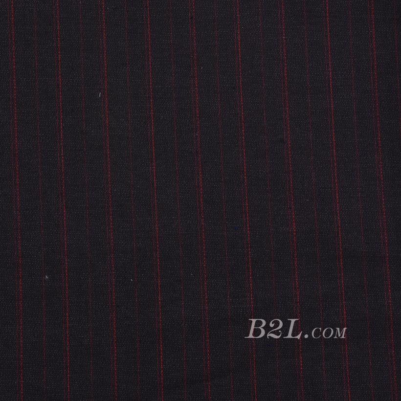 条纹 棉感 色织 平纹 外套 风衣 短裙 上衣 60625-8