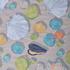 贝壳 期货 线绉 雪纺 梭织 印花 连衣裙 衬衫 短裙 薄 女装 春夏秋 60621-226