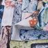 印花 梭织 植物 压轴 无弹 女装 连衣裙 短裙 春夏秋 71125-36