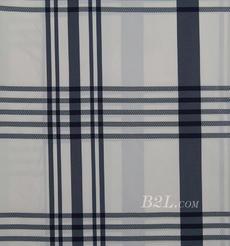 格子 涤棉 棉感 色织 平纹 外套 衬衫 上衣 70622-82