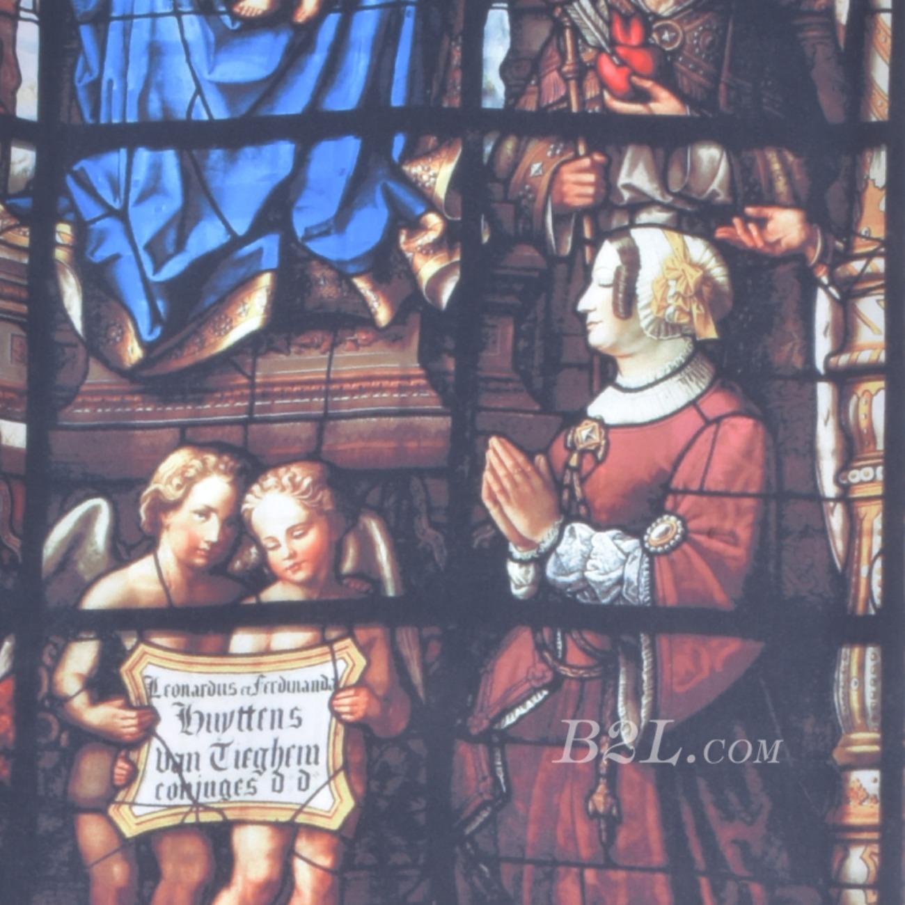 印花 色织 染色 柔软 宗教 油画基督教 春夏 连衣裙 女装 时装   90601-12-1