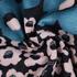 花朵 印花 针织 柔软 全涤 连衣裙 短裙 女装 60517-8