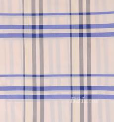 全滌 格子 無彈 色織 梭織 襯衫  女裝 春秋 80102-1