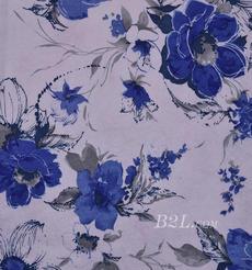 花朵 棉感 印花 平紋 外套 上衣 短裙 60625-5