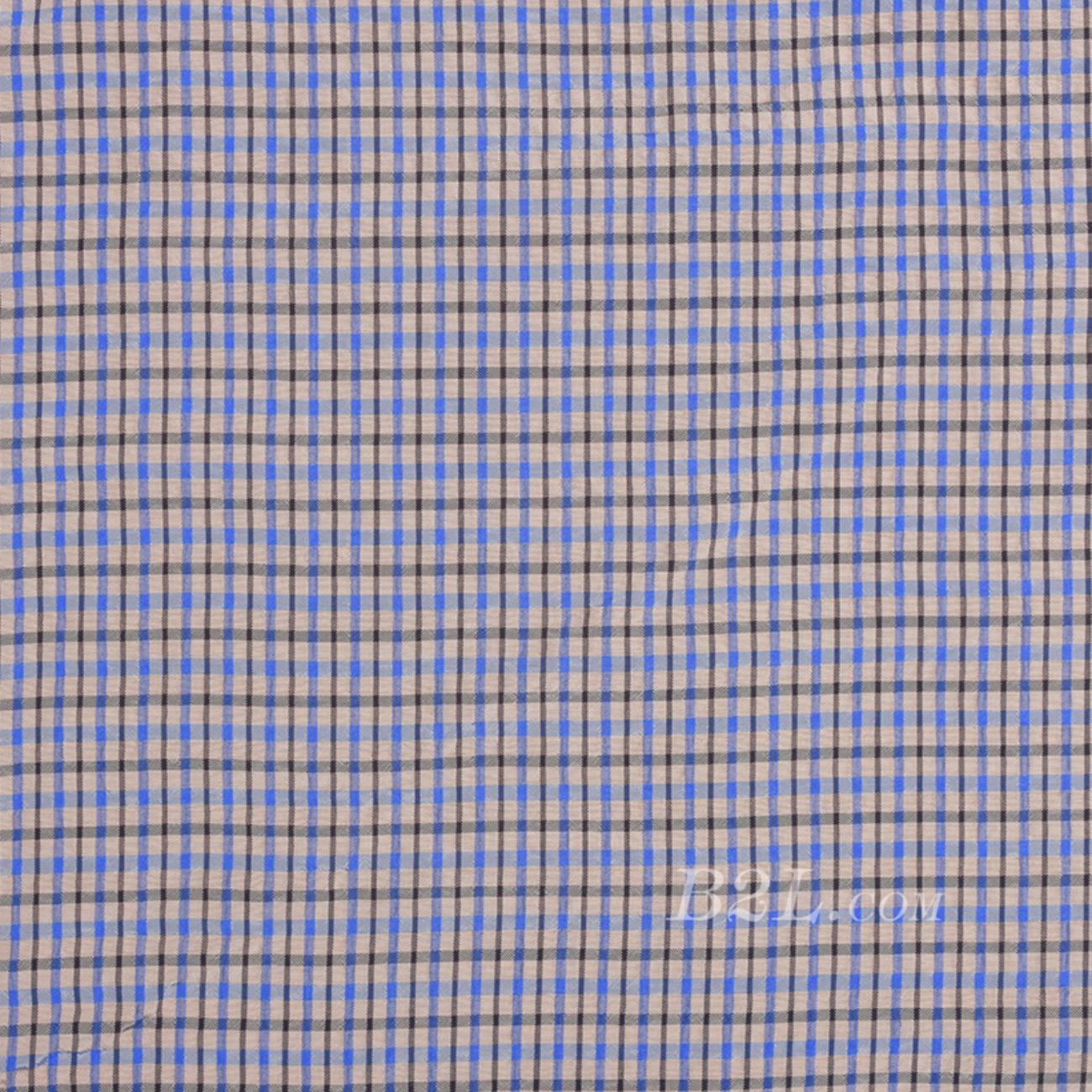格子梭织色织低弹 春夏 衬衫 连衣裙 短裙 90115-6