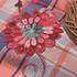花朵 格子 色织 梭织 绣花 微弹 连衣裙 衬衫 女装 童装 春秋 71227-58