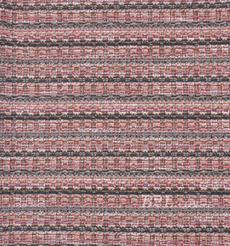 毛纺 针织 染色 低弹 条纹 香奈儿风 小香风 秋冬 大衣 女装 时装 90729-12
