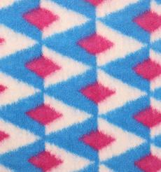 幾何 呢料 柔軟 羊毛 大衣 外套 女裝 70410-61