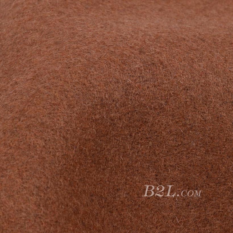 素色 梭织 毛呢 柔软 绒感 羊毛 大衣 低弹 外套 秋冬 女装 80311-12