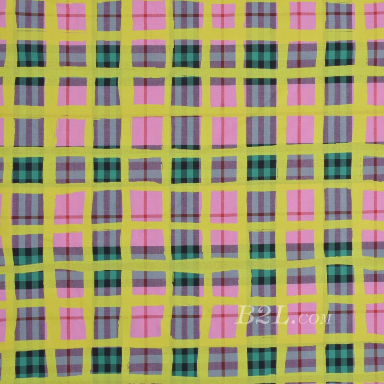 格子低弹梭织色织低弹春夏 衬衫 连衣裙 短裙90115-13