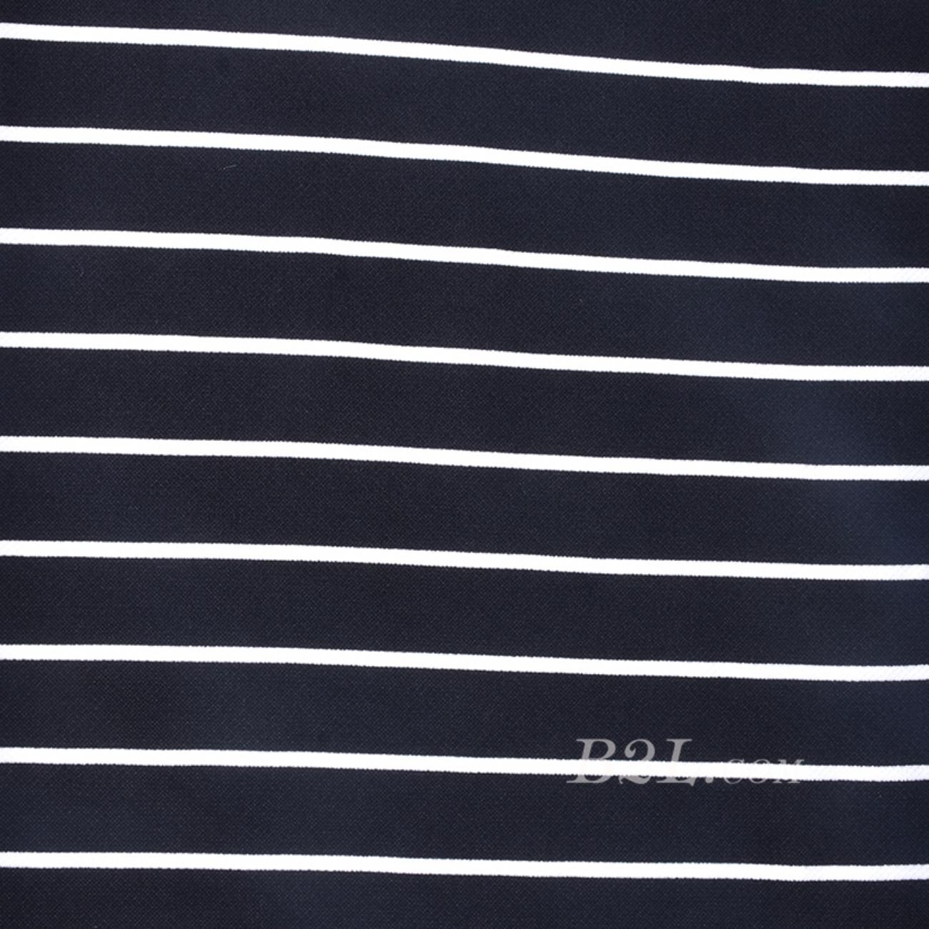 条子 针织 弹力 横条圆机  纬编 T恤 针织衫 连衣裙 棉感 60311-56
