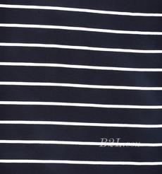 条子 针织 弹力 横条 圆机  纬编 T恤 针织衫  连衣裙 棉感 期货 60311-56