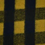 格子 提花 呢料 柔软 羊毛 大衣 外套 女装 60803-65