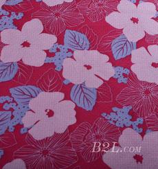 花朵 針織 印花 單面 低彈 外套 短裙 連衣裙 60526-7
