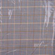 格子 梭织 色织 反光 PU复合 低弹 春秋 大衣 外套 女装 80714-21