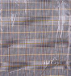 格子 梭織 色織 反光 PU復合 低彈 春秋 大衣 外套 女裝 80714-21