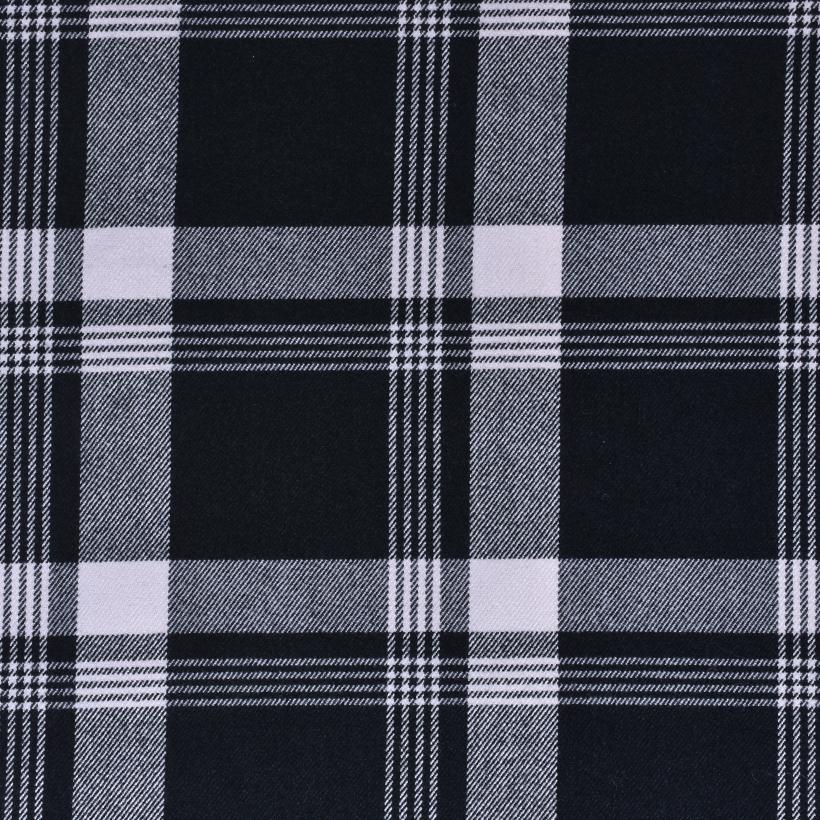 斜纹 格子 梭织 色织 无弹 衬衫 外套 连衣裙 柔软 细腻 棉感 男装 女装 春秋70410-87