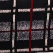 格子 呢料 柔软 羊毛 大衣 外套 女装 70410-67