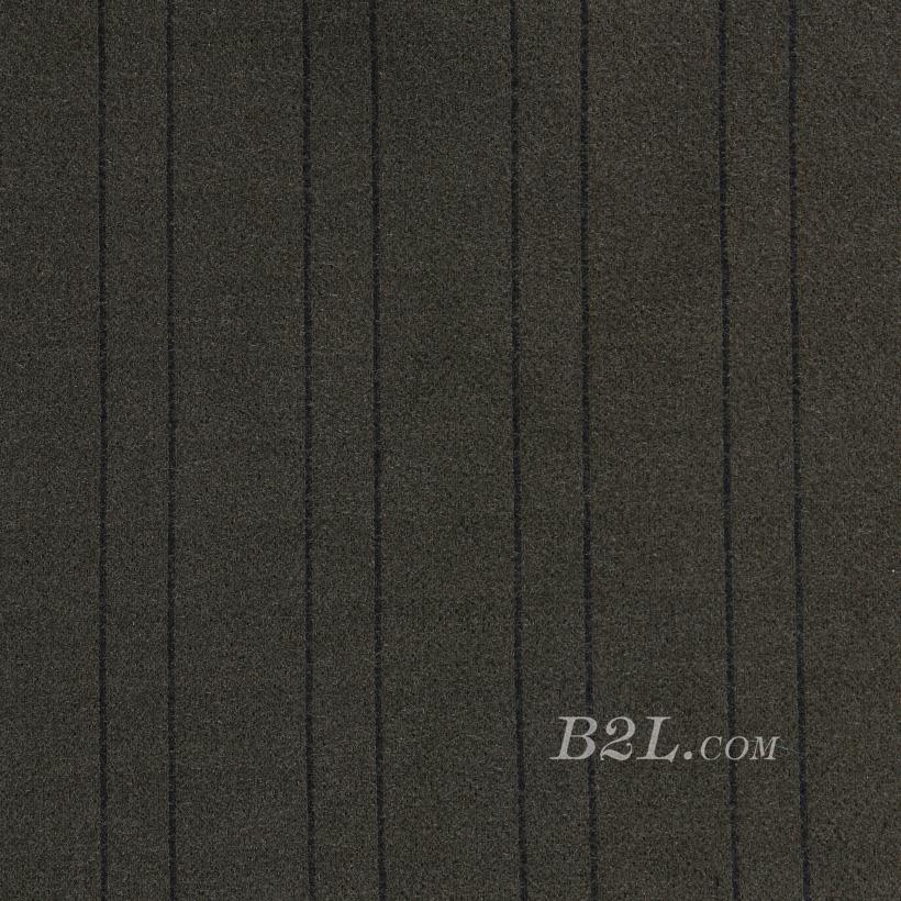 蜈蚣纱 针织 条纹 低弹 细腻 柔软 大衣 外套 女装 秋冬 70828-6