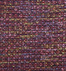 期货 毛纺 粗纺 亮片 金线 提花 香奈儿风 色织 无弹 粗糙 秋冬 大衣 外套 女装 80901-2