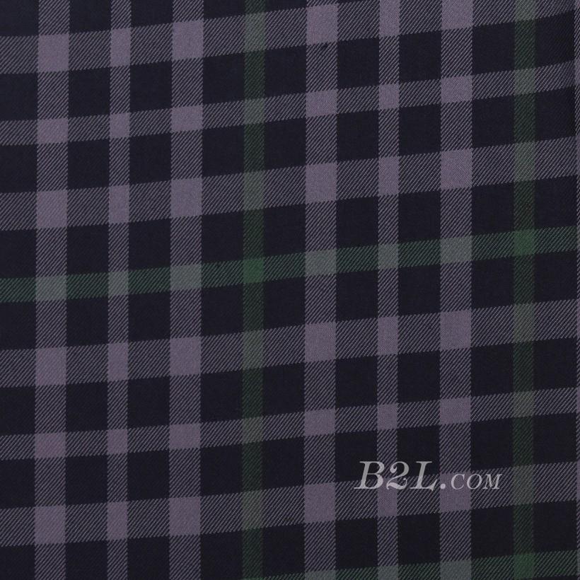 格子 棉感 色织 平纹 外套 衬衫 上衣 70622-159