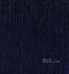 针织染色丝绒面料-银丝条连衣裙面料Z211