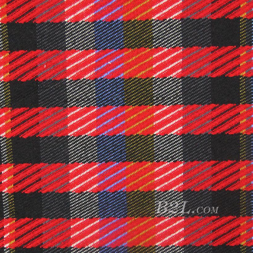 格子 提花 色织 女装 外套 大衣 春秋 期货 60401-59
