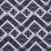 人棉 期货 民族风 梭织 印花 无弹 衬衫 连衣裙 短裙 薄 棉感 70531-45