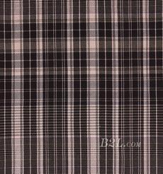 格子 棉感 色织 平纹 外套 衬衫 上衣 70622-161