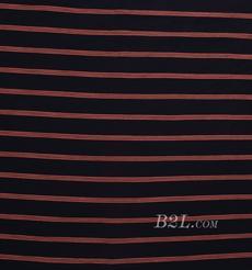 条子 横条 圆机 针织 纬编 T恤 针织衫 连衣裙 棉感弹力 80131-2
