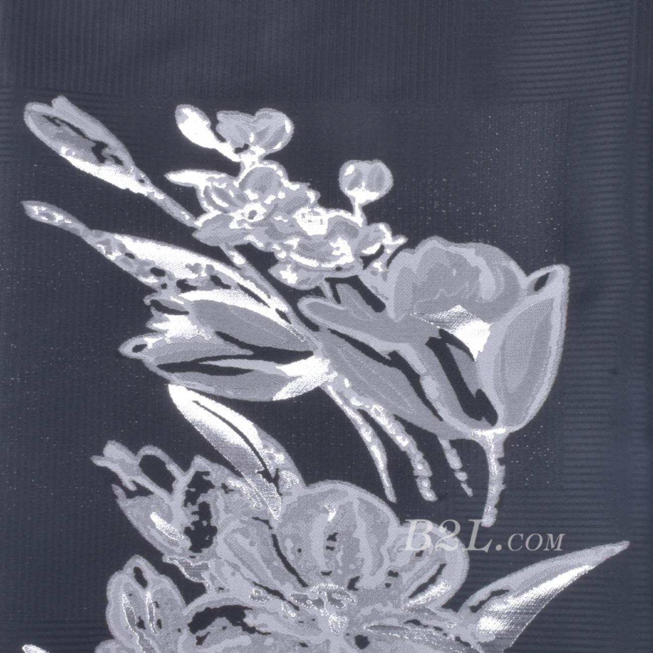 提花 梭织 染色 植物 花朵 定位 春秋冬 时装 女装 外套 90412-68