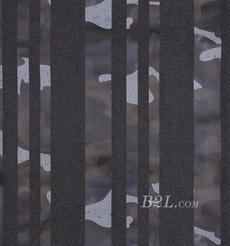 条子 梭织 弹力 印花 春秋冬 女装 连衣裙 短裙 81101-17