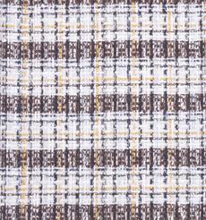 毛纺 色织 染色 厚 粗针 条子 香奈儿风 秋冬 女装 大衣 外套 时装 90626-8