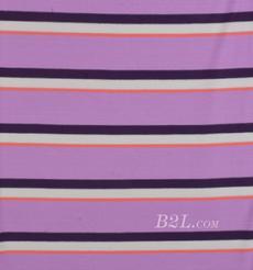 条纹 针织 横条 弹力 棉感 春秋 T恤 针织衫 连衣裙 80905-17